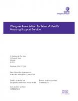 Care Inspectorate Inspection Report 2016