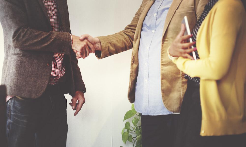Meeting a new stakeholder or volunteer